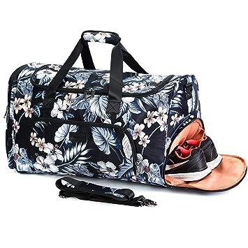 Amazon.com: La bolsa de viaje AmHoo tiene un diseño de ...