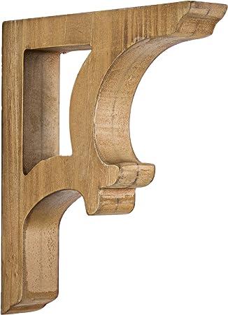 "SET of 8 Corbel Farmhouse Shelf Bracket Shelving New Antique Rustic 9.5/"" s s"