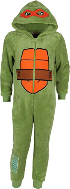 Pyjama Une Piece Tortue Ninja 6 7 Ans 122 Cm Amazon Fr Vetements Et Accessoires