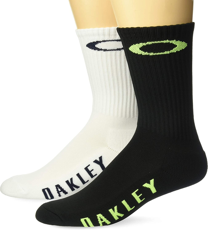 Oakley Mens Men's SOCKS ELLIPSE ON TOP (2 PCS PACK)