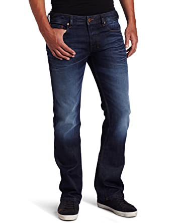 d29ec902 Diesel Zatiny 73N Boot Cut Jeans 40/36 Men Blue: Amazon.co.uk: Clothing