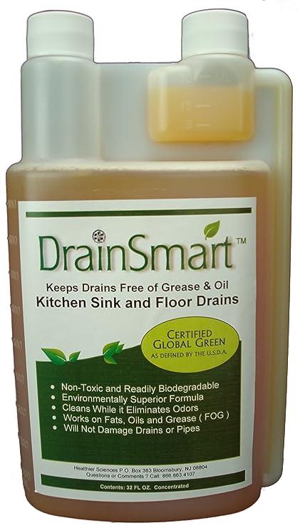 Ciencias más sano inteligente no tóxico enzima limpiador de desagüe ...