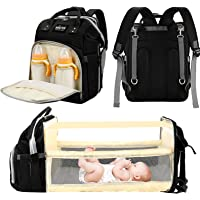 Baby Diaper Bag with Changing Station - Multi-Purpose mom and dad Bag for Traveling, Large Capacity Baby Diaper Backpack…