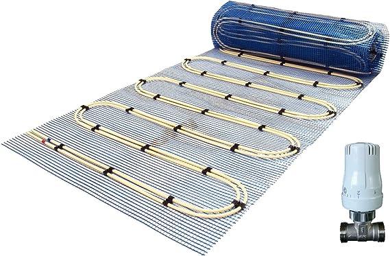 Fussbodenheizung Warmwasser Jollytherm Aquaheat 8mm d/ünn