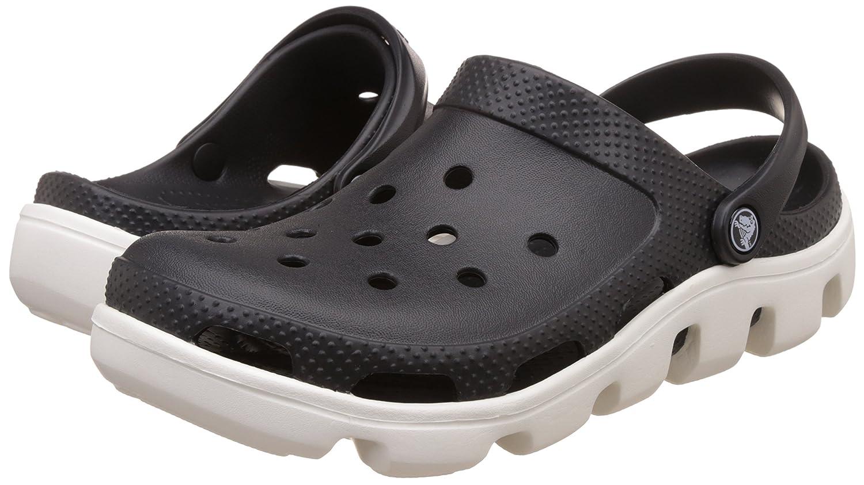 Crocs - Clogs Duet Sport Clog - Black White, Taille:41-42 Eu