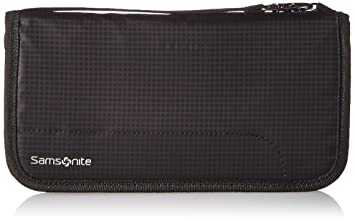 6313122505 Image Unavailable. Image not available for. Color  Samsonite RFID Zip Close Travel  Wallet