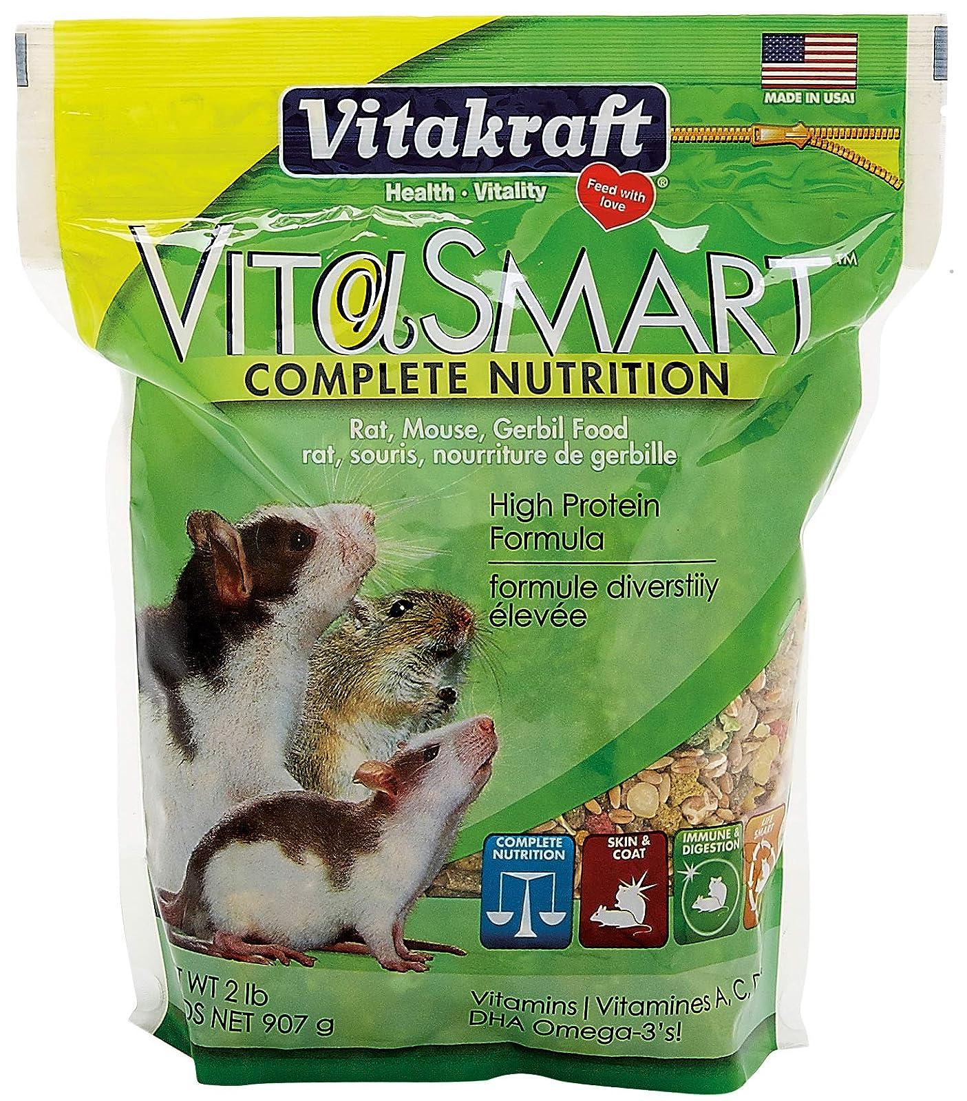 Vitakraft Vita Smart Rat/Mouse Food 2 Lb Bag 34515 SMALLPET - 1