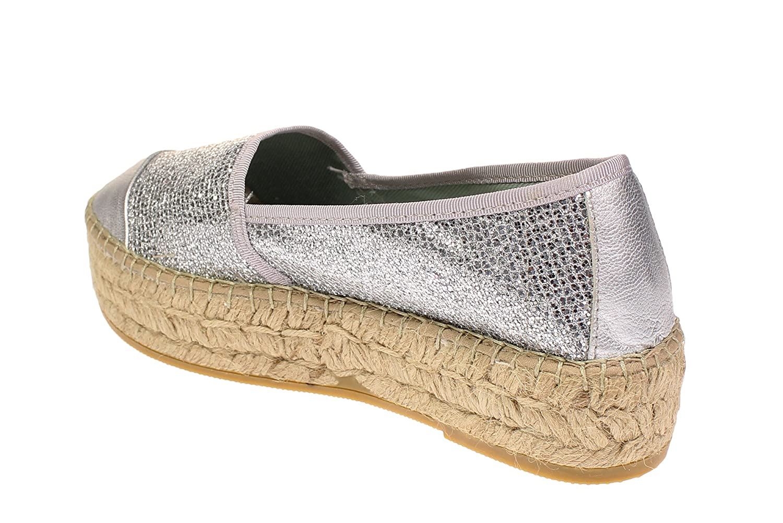 Vidoretta Schuhe 00200 - Damen Schuhe Vidoretta Espadrilles Freizeitschuhe - Plata 97bb44