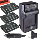 BM Premium NP-BX1 Battery Kit for Sony CyberShot Digital Cameras - Includes Qty 3 NP-BX1 Batteries + Battery Charger