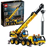 LEGO Technic Mobile Crane 42108 Building Kit, A Super Model Crane to Build for Any Fan of Construction Toys