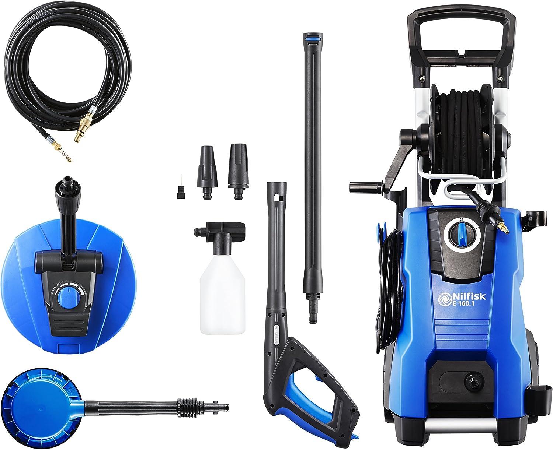 Nilfisk E160.1-10 PADH X-TRA Hidrolimpiadora de Agua a Presión, 2300 W, 230 V, Azul: Amazon.es: Bricolaje y herramientas