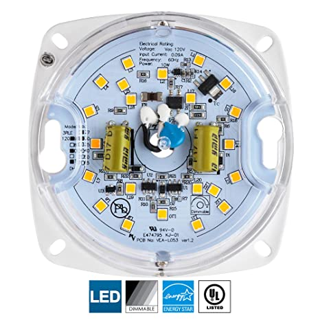 Amazon.com: Sunlite - Motor LED, Blanco, 4350298793, 10.00 ...