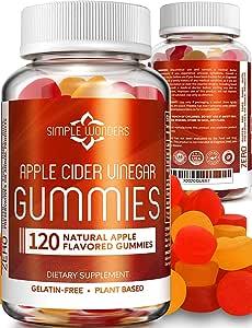 Amazon.com: Apple Cider Vinegar Gummies (120 Pack) - Gummy