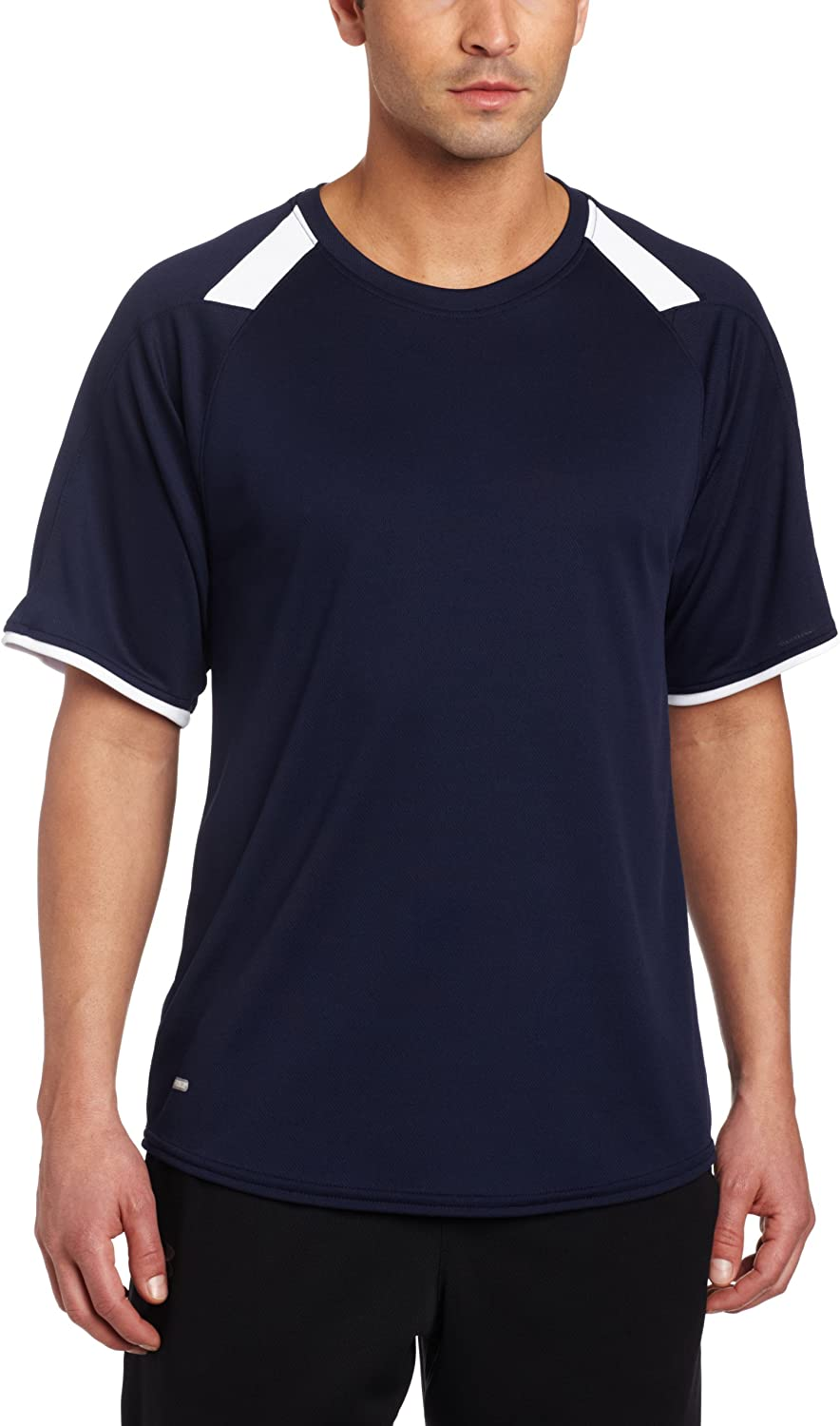 Mens Russell Athletic Short Sleeve Performance Crew Shirt Size Motion Fitness