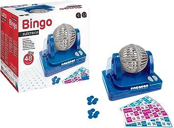 Falomir Bingo Eléctrico, Juego de Mesa, Clásicos, 27 x 24 x 17 cm ...