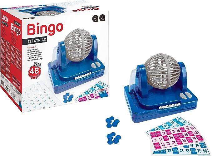 Falomir Bingo Eléctrico, Juego de Mesa, Clásicos, 27 x 24 x