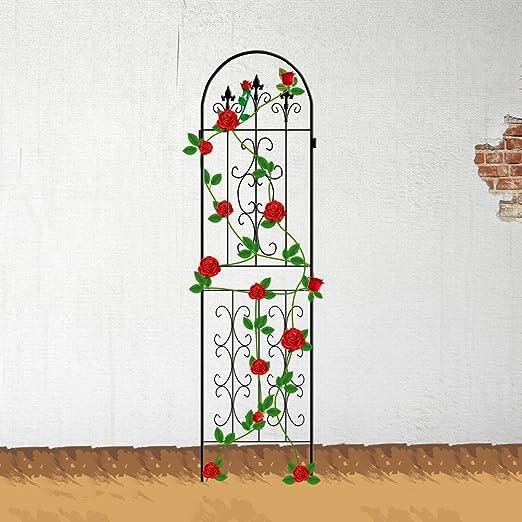 ecotrellis jardín enrejado planta valla paneles de alambre de ...