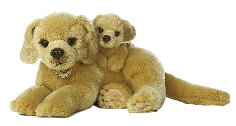 Aurora Miyoni golden Lab with Puppy