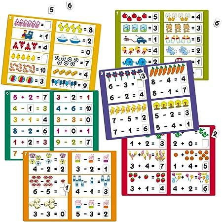Diset- Aprendo 5 años Juguete educativos Sumar y Restar (68954): Amazon.es: Juguetes y juegos