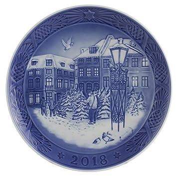 Piatti Per Natale 2019.Royal Copenhagen Piatto Natale 2018