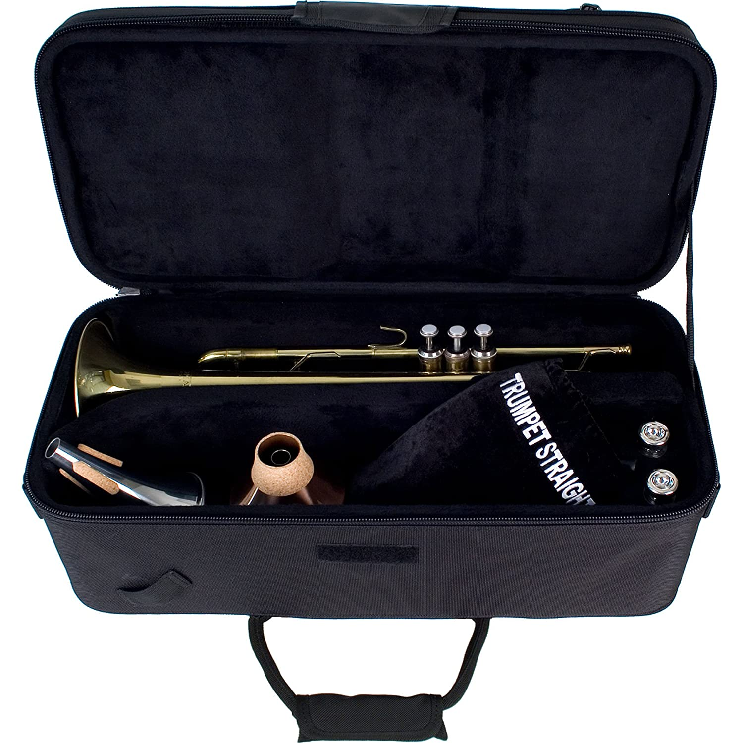 Protec Trumpet PRO PAC Trumpet Case with Mute Section