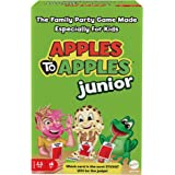 Apples to Apples Junior, The Game of Crazy Comparisons, Board Game with 504 Cards, Family Party Game Especially for Kids, Gif