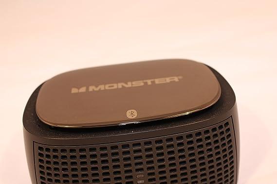 Monster ClarityHD Bluetooth Wireless Speaker (Black) Outdoor Speakers at amazon