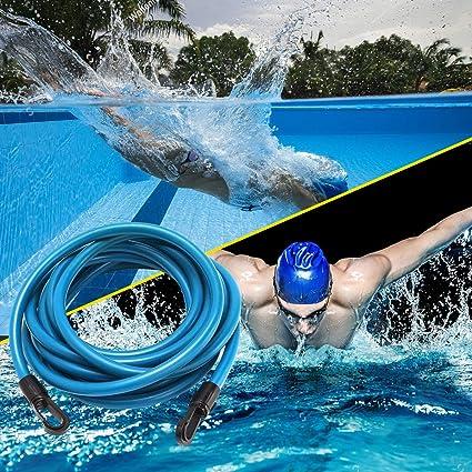 per esercizi fissi di resistenza Osugin Cintura elastica da nuoto per allenamento colore blu