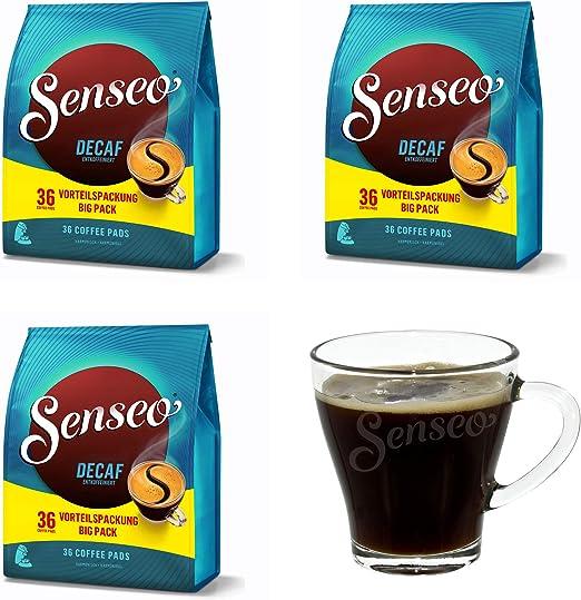 Senseo - Discos de café para cafeteras eléctricas (108 cápsulas de ...