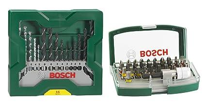Bosch 2 607 017 063 - Set con 32 unidades para atornillar (incluye ...