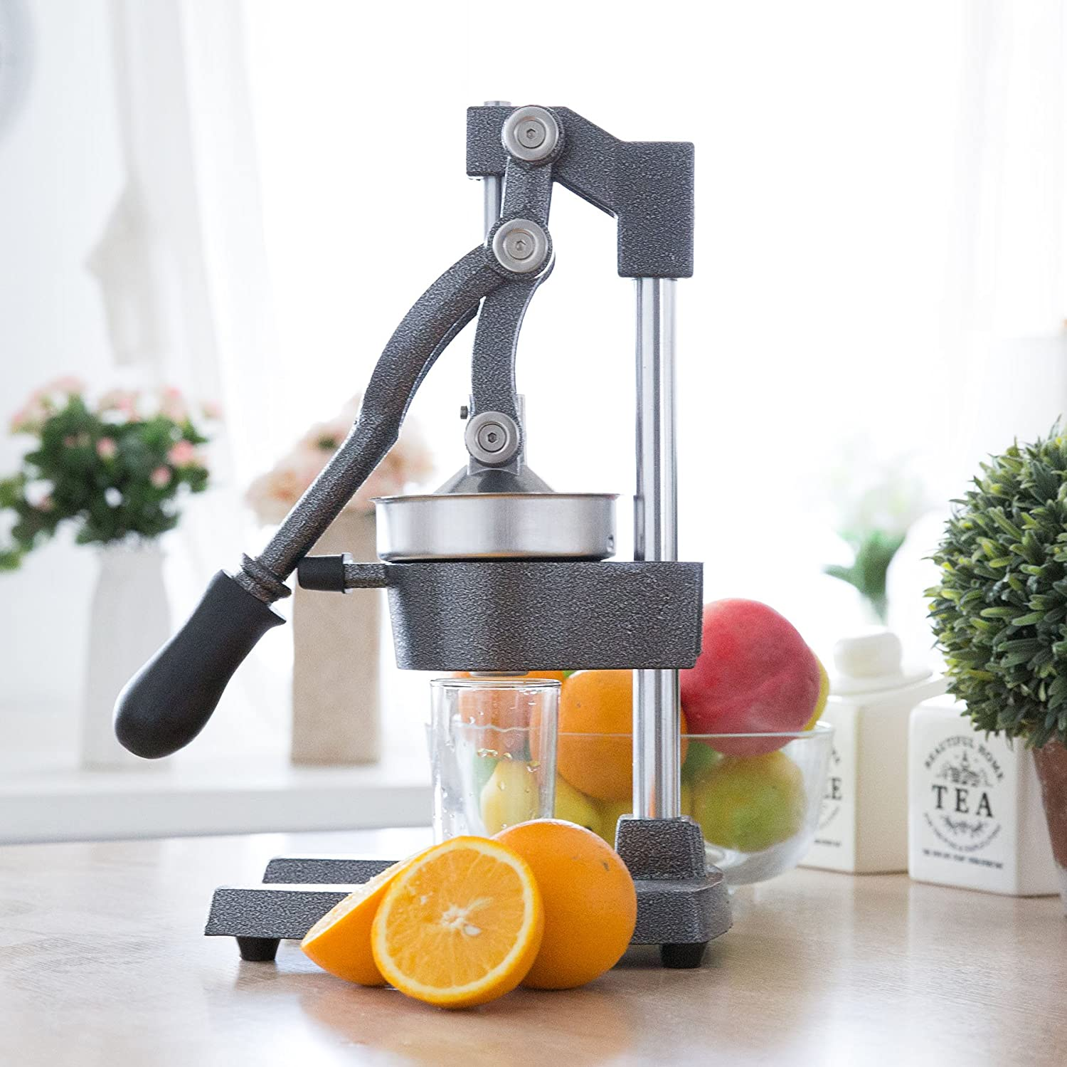 CO-Z Commercial Grade Citrus Juicer Hand Press Manual Fruit Juicer