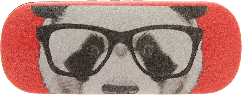 MIK Funshopping Brillenetui Panda Hipster Nerd 16 cm