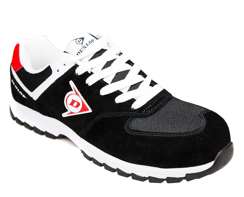 Dunlop Blanc Flying de Arrow | Protection Chaussure de Sécurité | Chaussures de Travail S3 | avec Embout | Légères & Respirantes | Baskets de Protection de Travail Noir/ Blanc b65f2b6 - piero.space