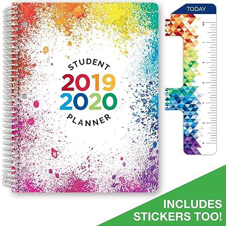 Amazon.com: Planificador elemental con fecha para el año ...