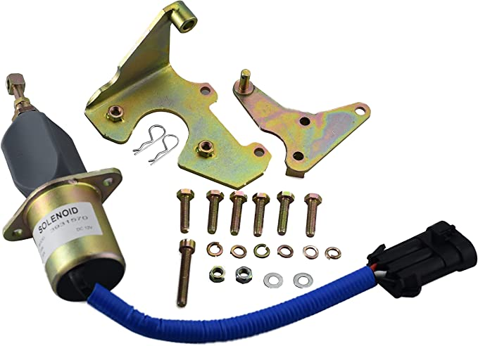 5016244AA Fuel Shut Off Solenoid with Relay For 5.9L Dodge 94-98 Diesel Cummins