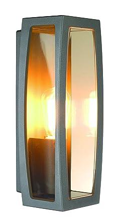 SLV Wandlampe MERIDIAN BOX | Für Die Effektvolle Außenbeleuchtung Von  Wänden Und Hauseingang | LED Strahler