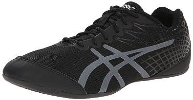 ASICS Women's Rhythmic 3 Dance Shoe, Black/Silver, ...