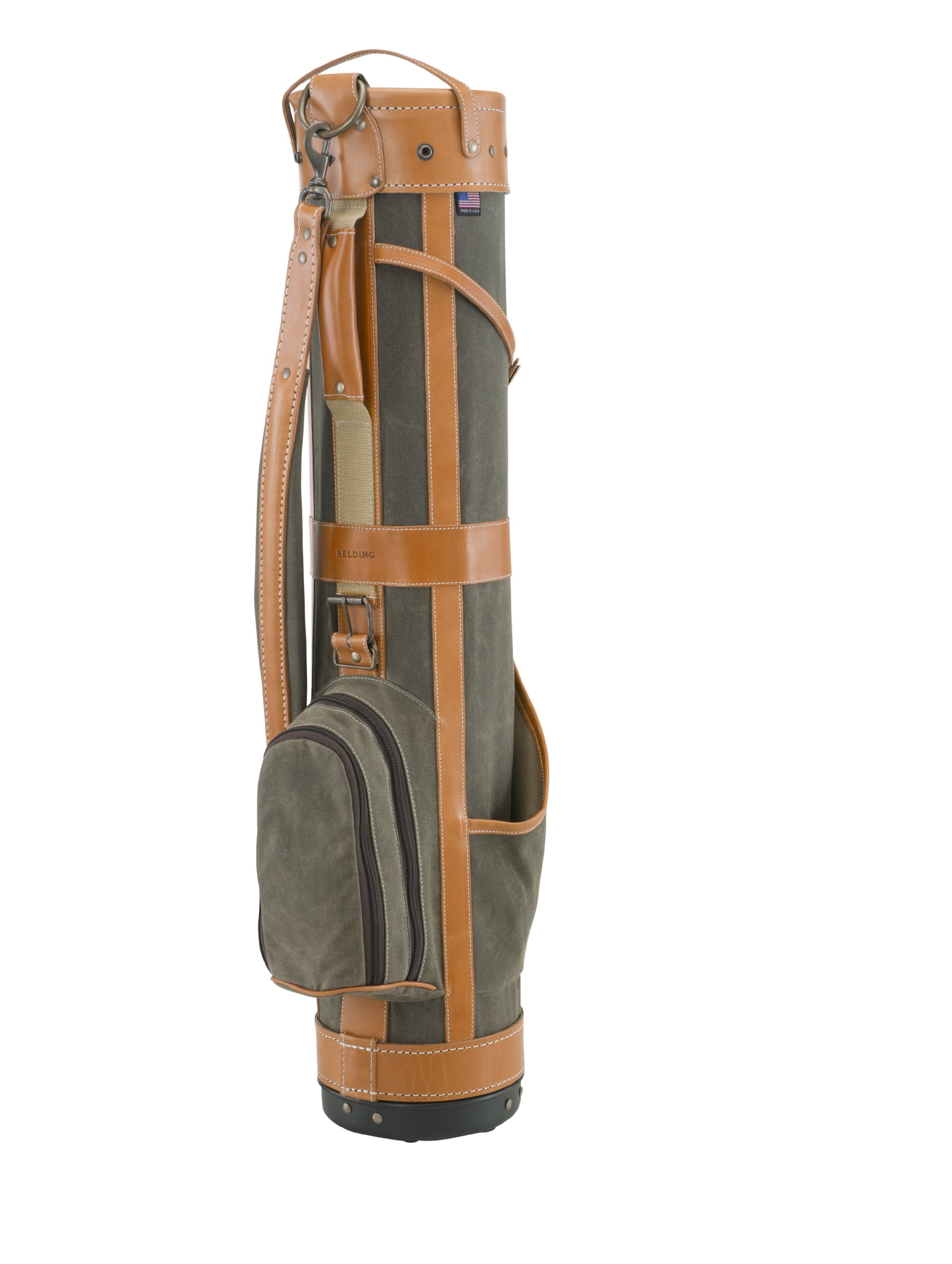 BELDING American Collection Pencil Golf Bag, 7-Inch, Sage