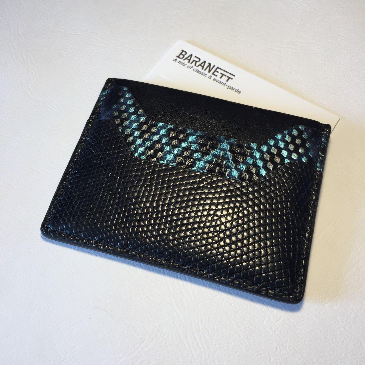 Luxury Cardholder | Genuine exotic leather wallet (money keeper)