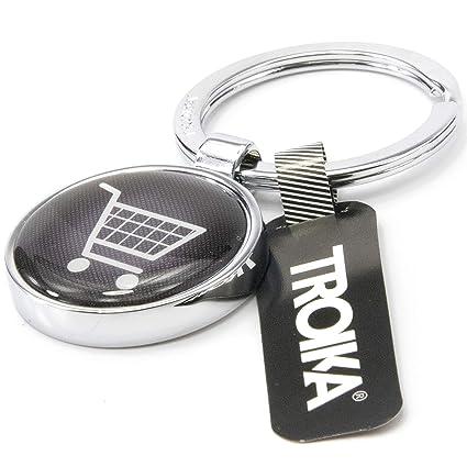 TROIKA Shopping - #KYR14-A143 - Llavero con ficha para ...