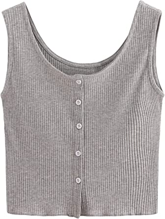 NEW Ladies Girls Ribbed Sleeveless Stretch Cotton Plus Size Vest Cami Top