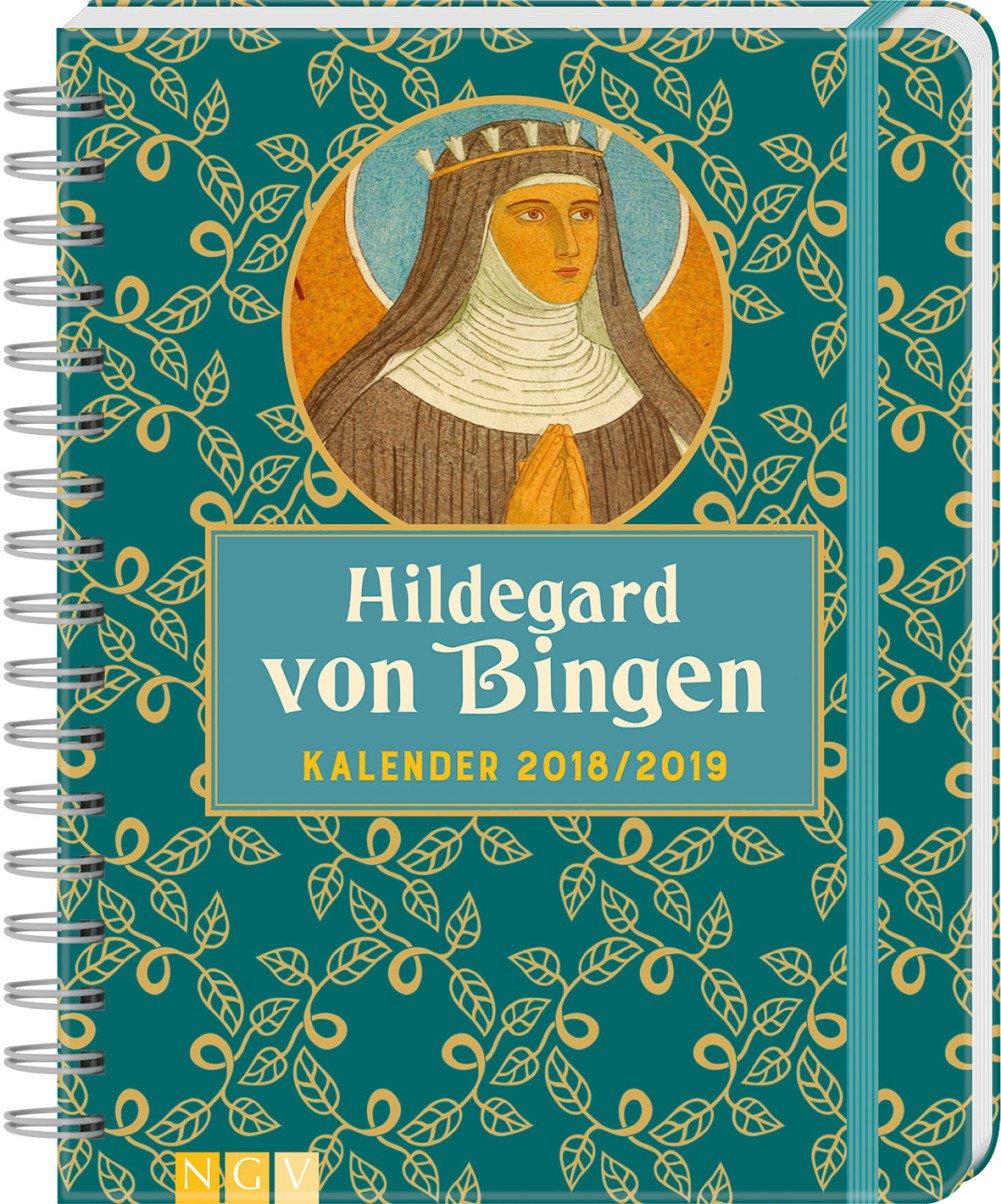 Hildegard von Bingen Kalender 2018/2019: Mit 100 Stickern!