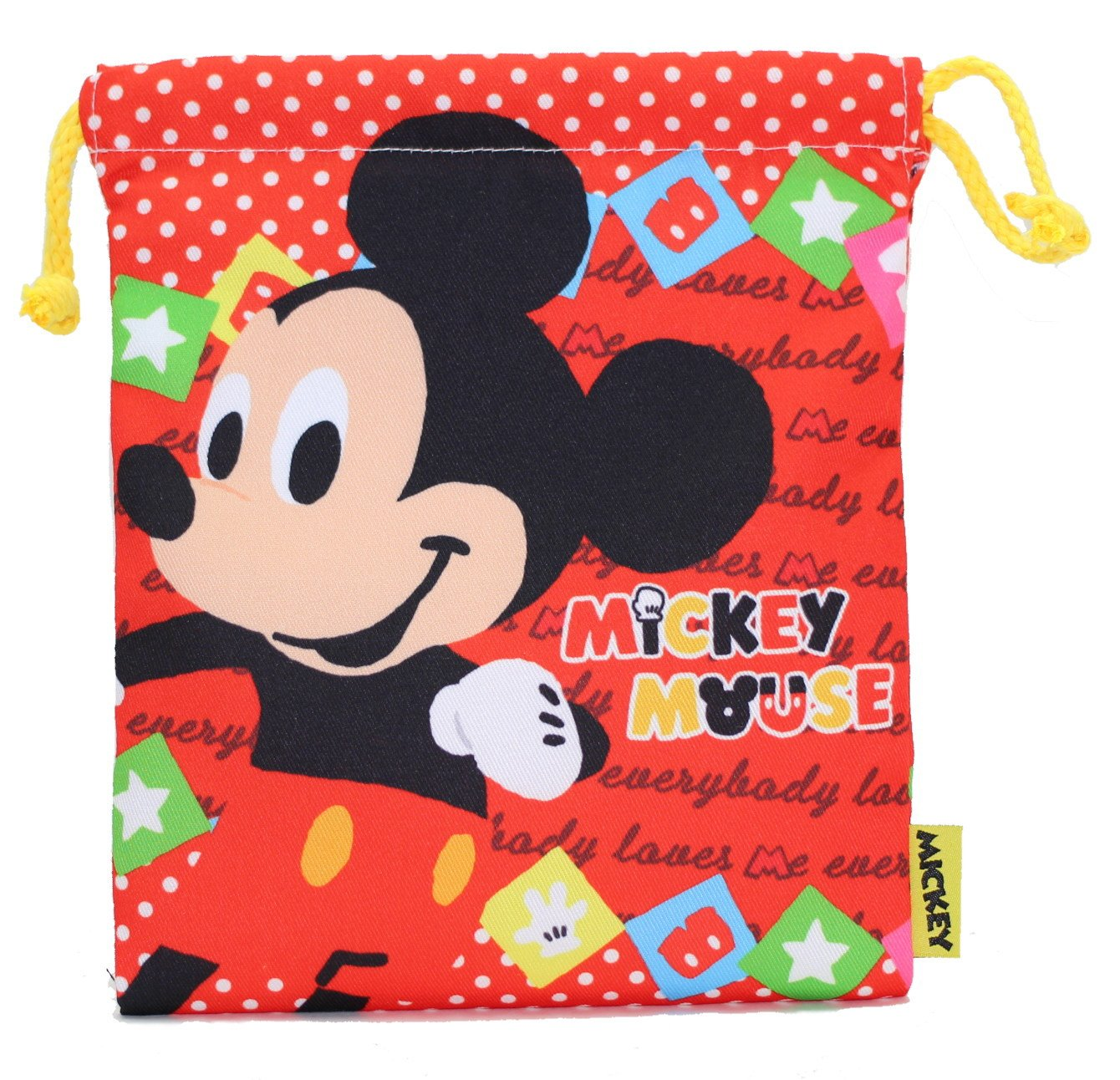Mickey Mouse ''Kinchaku, Small Bag'' FRK784