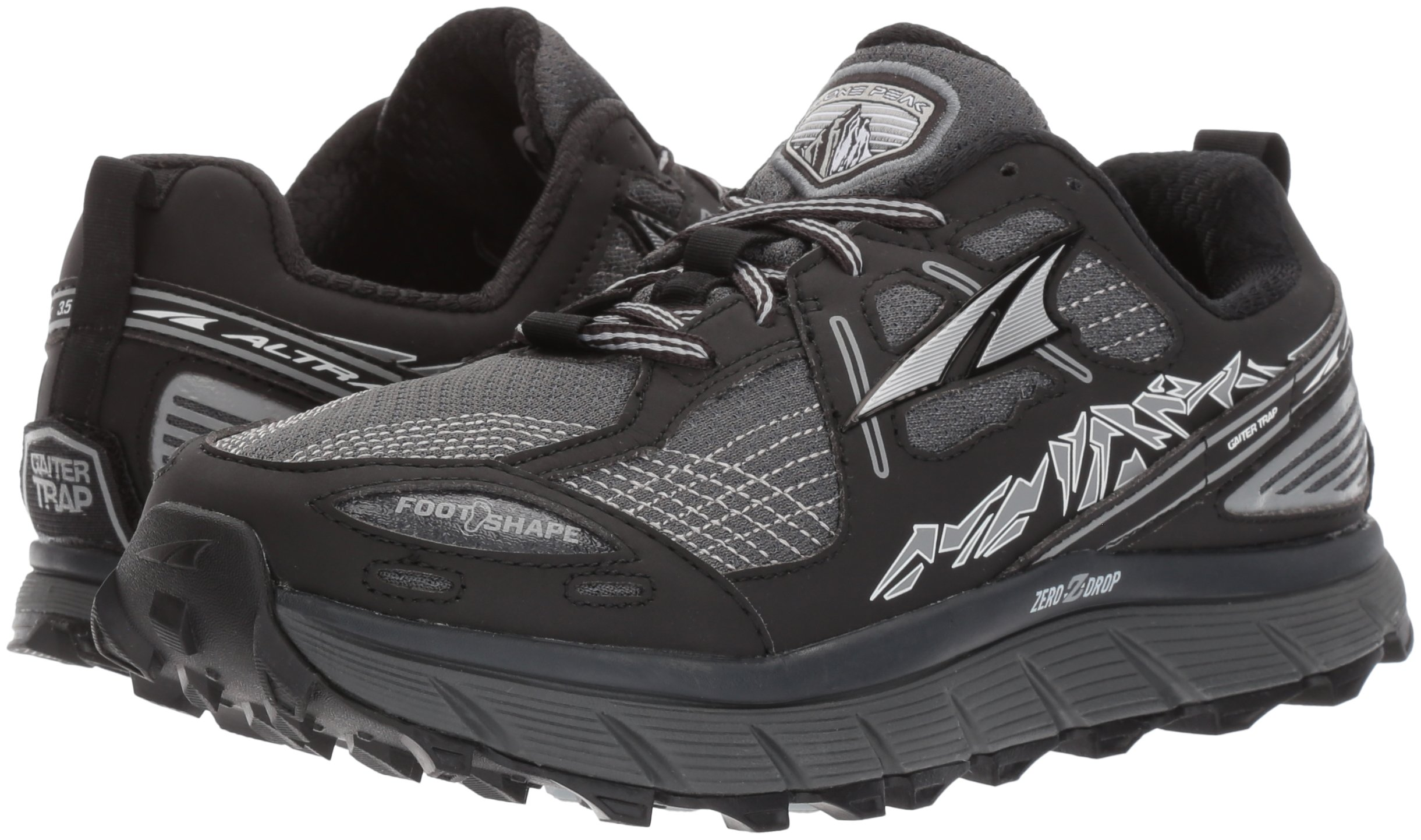 Altra Women's Lone Peak 3.5 Running Shoe, Black, 8.5 B US by Altra (Image #6)
