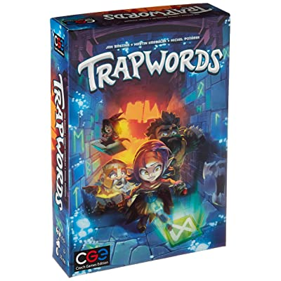 Czech Games Trapwords, Multi-Colored: Toys & Games