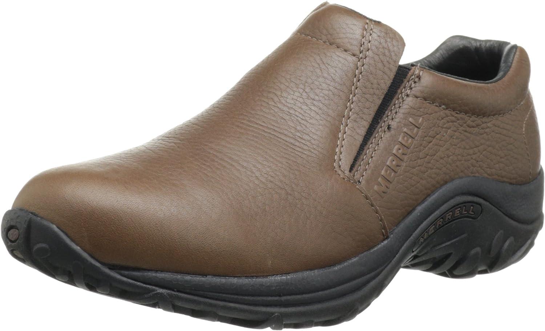 Amazon.com | Merrell Men's Jungle Leather Slip-On Shoe | Loafers & Slip-Ons