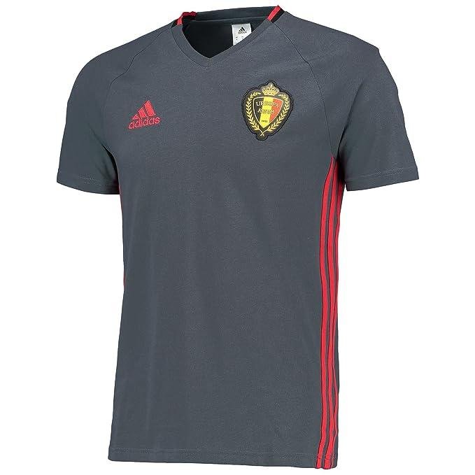 Adidas - Camiseta para Hombre rbfa Bélgica Entrenamiento Camiseta: Amazon.es: Deportes y aire libre
