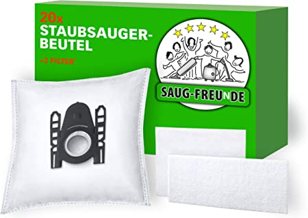 20X CLEANMONSTER STAUBSAUGERBEUTEL für Siemens VSZ7330 Z7.0