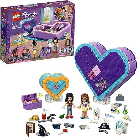LEGO Friends - Pack de la Amistad: caja corazón, divertido set de construcción coleccionable para guardar todas tus cosas (41359) , color/modelo surtido: LEGO: Amazon.es: Juguetes y juegos