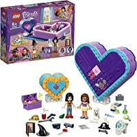 LEGO 41359 Friends Heart Box Friendship Pack Set, 2 Heart Shaped Boxes, Vicky and Olivia mini-dolls and Acessories, Collectible Toys for Kids